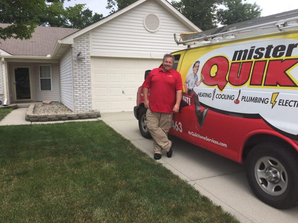 Mr. Quik technician