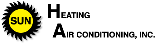 H.A. Sun Heating and Air Conditioning Logo