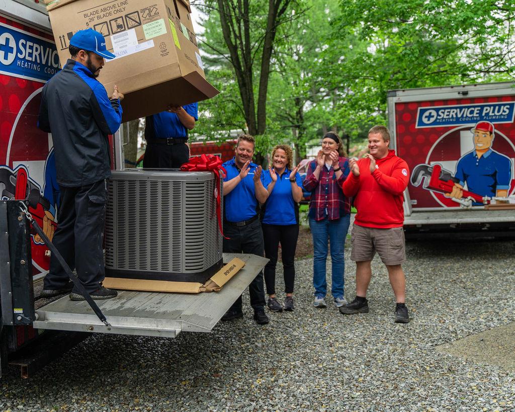 Service Plus Everyday Hero HVAC Giveaway